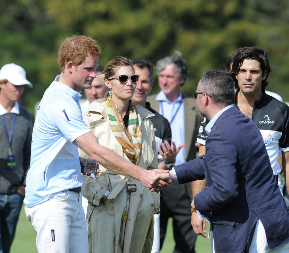 Prince Harry during the Sentebale Royal Salute Polo Cup match at the Greenwich Polo Club, Wednesday, May 15, 2013. The polo match was played to raise funds for Sentebale, a charity Prince Harry co-founded in 2006 in memory of his late mother, Princess Diana. Photo: Bob Luckey / Greenwich Time