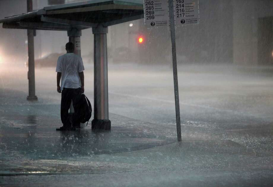 Heavy rains such as what fell in downtown Houston and surrounding areas last week are often followed by the buzz of pesky mosquitoes. Photo: Mayra Beltran, Staff / © 2013 Houston Chronicle