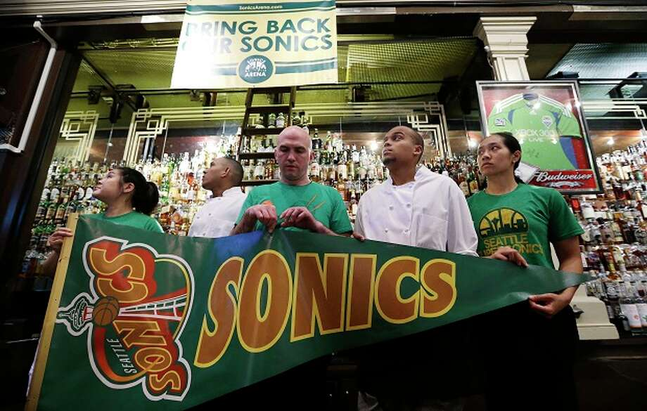 May 15, 2013: In Dallas, the NBA's Board of Governors votes 22-8 to reject the proposed relocation of the Kings to Seattle, effectively ending Chris Hansen's bid for the Sacramento team. NBA Commissioner David Stern says the league will work ''fairly'' with Seattle in its ongoing quest to bring home the Sonics, and Deputy Commissioner Adam Silver confirms that the board discussed the possibility of future expansion to Seattle.  Photo: AP
