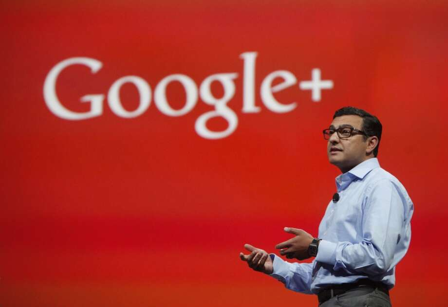 Vic Gundotra, senior vice president, engineering for Google,  speaks during  the keynote presentation at Google I/O 2013 at  Moscone West on Wednesday, May 15, 2013 in San Francisco, Calif.