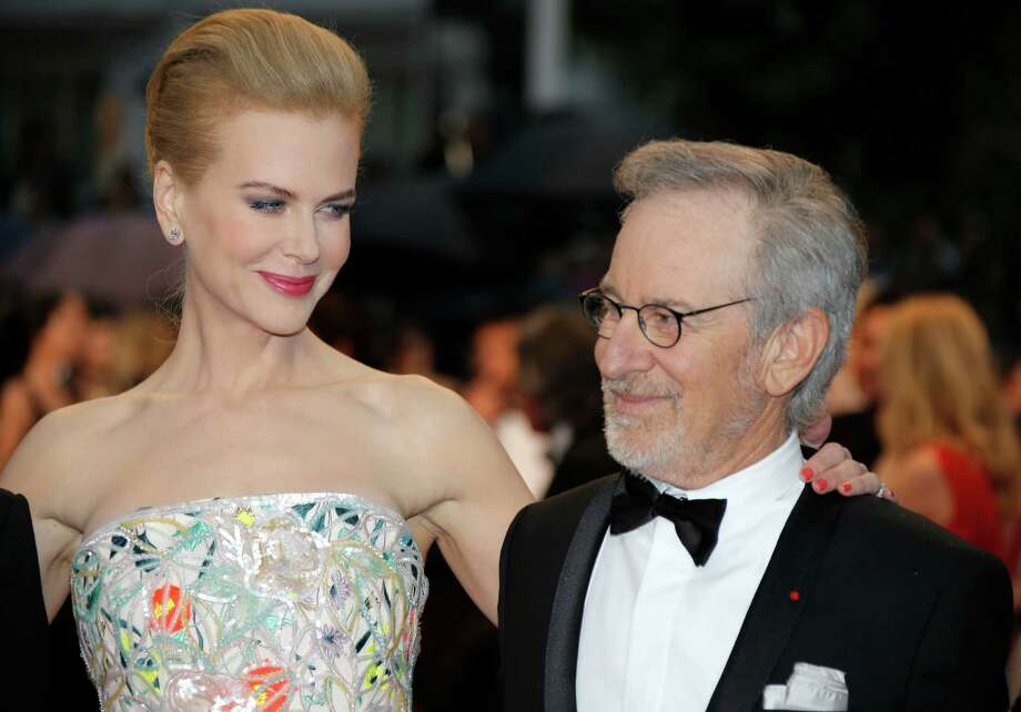 Jury members Nicole Kidman and Steven Spielberg arrive for the opening ceremony and the screening of The Great Gatsby at the 66th international film festival, in Cannes, southern France, Wednesday, May 15, 2013. Photo: Lionel Cironneau