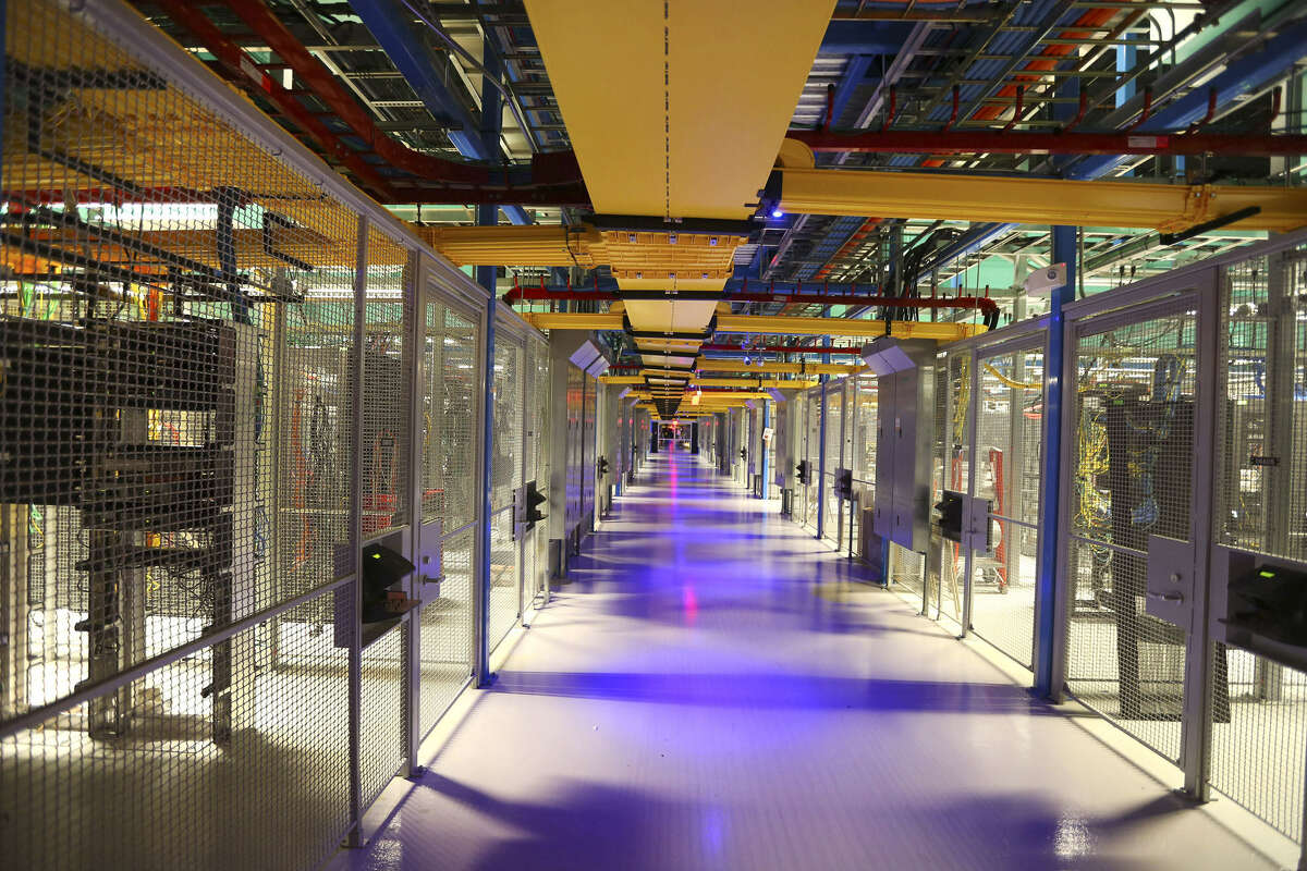Bland data centers are commanding high rents because of large amounts of remote computer storage, electrical power and ultrafast fiber optic links.