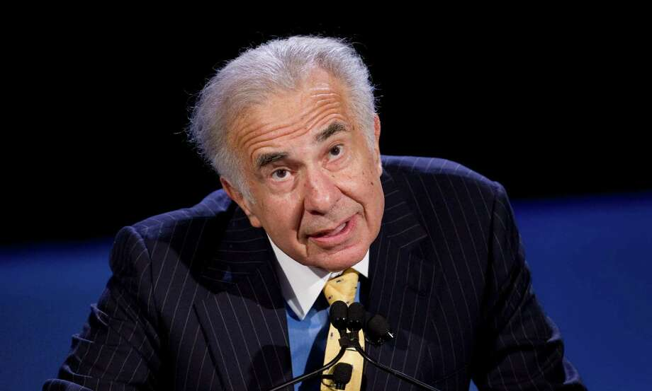 Carl Icahn, CEO Icahn EnterprisesIcahn has had his hand in numerous major companies, including his recent tussle with Texas-based Dell. However, he hasn't been too concern about his $1 salary. Source: CNNMoney Photo: MARK LENNIHAN, STF / AP