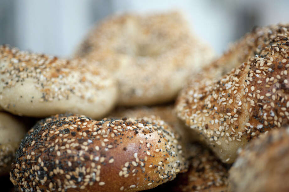 Person is ordering a hemp bagel and wants fresh virgin Himalayan yack butter in a cup on the side (or some such specialty not on the list). Photo: David McGlynn, Getty Images / (c) David McGlynn