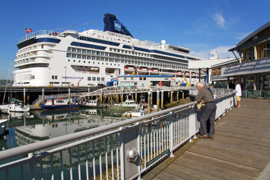 You're shopping at Pike Place Market but forgot to check the cruise ship schedule. Photo: Richard Cummins, Getty Images/Lonely Planet Images / Lonely Planet Images