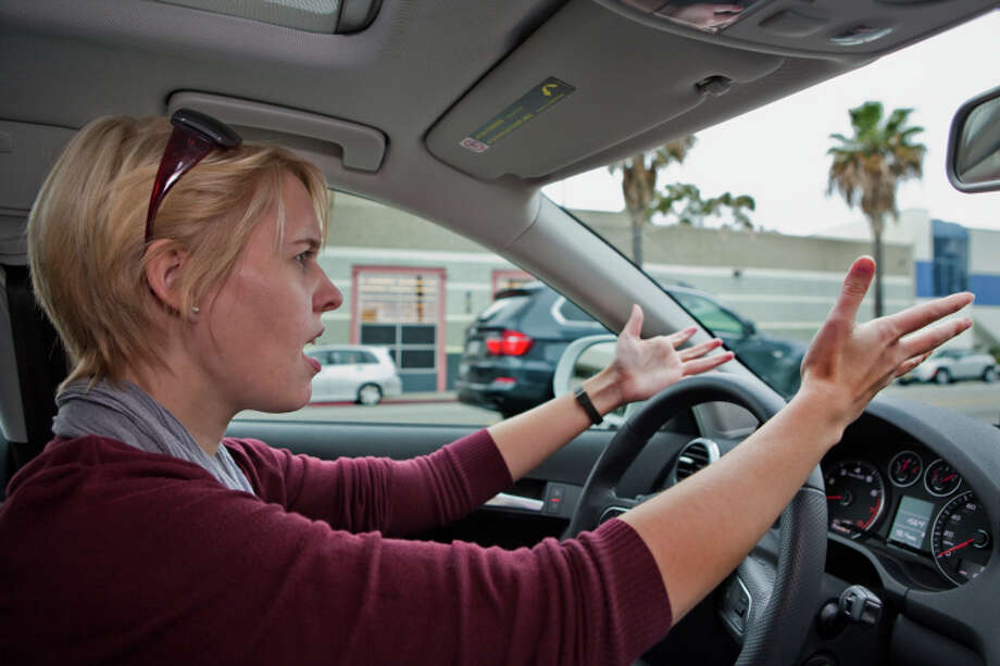 Passive-aggressive drivers who break to merge. Photo: Gary Conner, Getty Images / (c) Gary Conner