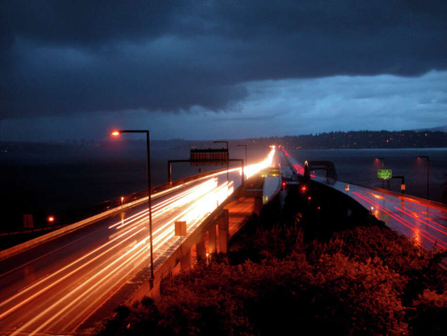 I-90 bridge is closed. Photo: Wayne Hacker, Getty Images/America 24-7 / America 24-7