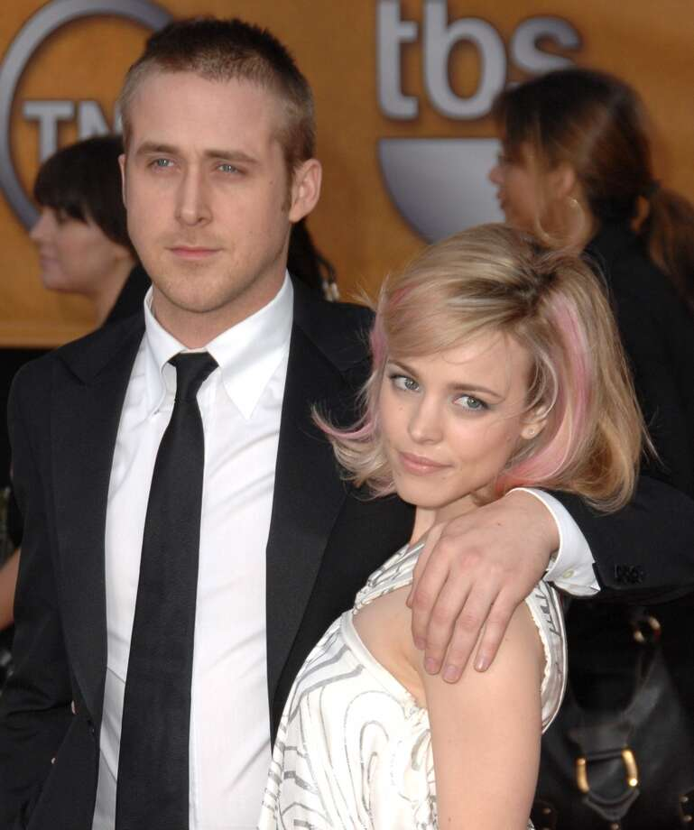 "Ryan Gosling and Rachel McAdams met during the filming of ""The Notebook.""  They dated for two years. Photo: Jon Kopaloff, FilmMagic"