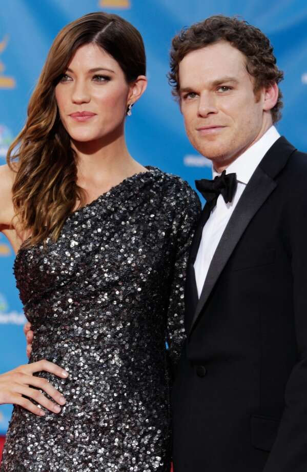"Jennifer Carpenter and Michael C. Hall met and married while playing brother and sister on the Showtime serial killer drama ""Dexter."" Oh, and they also divorced in 2011. Photo: Jeff Vespa, WireImage"