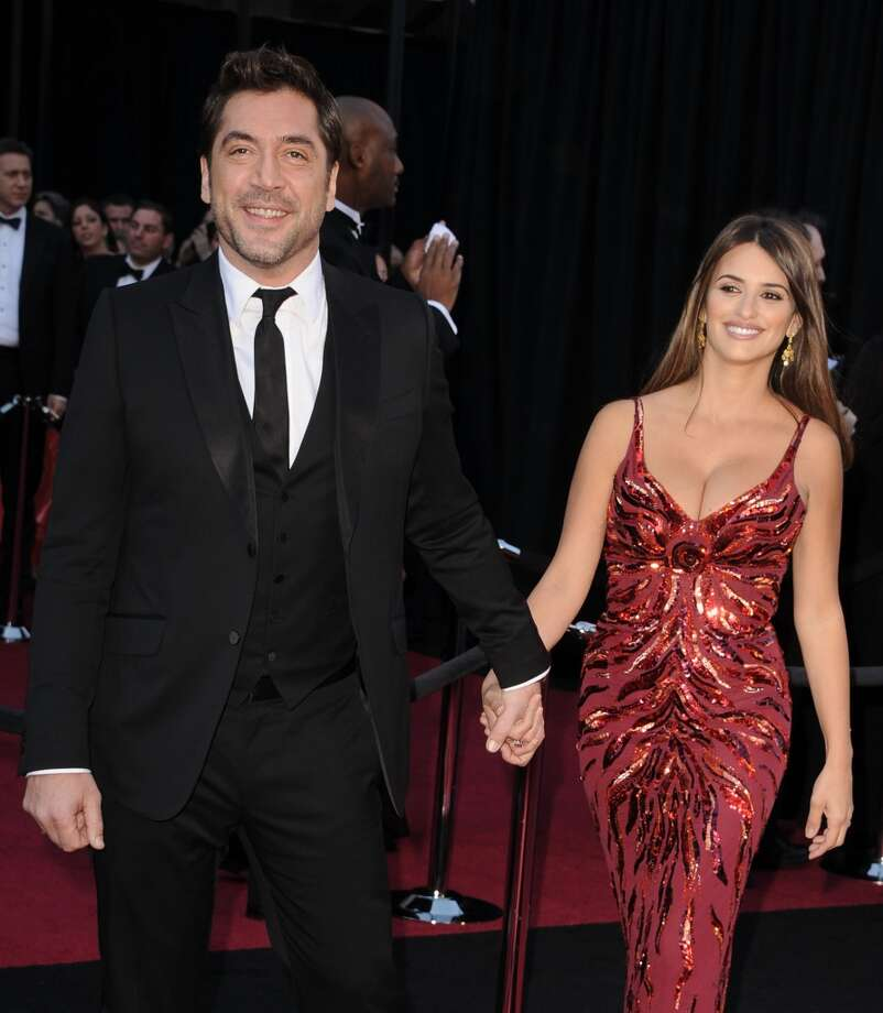 "Javier Bardem and Penelope Cruz began dating while filming ""Vicki Cristina Barcelona"" in 2007. They married in 2010, have two children together. Photo: Steve Granitz, WireImage"