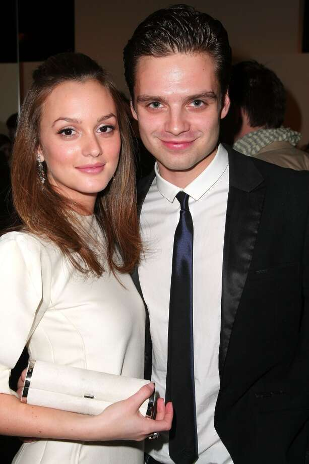 "Another ""Gossip Girl"" couple! Leighton Meester and Sebastian Stan met when he appeared on the show. They were briefly engaged, but split in 2010. She's now married to the ""O.C.""s Adam Brody. Photo: Christopher Blumenshine, Getty Images"