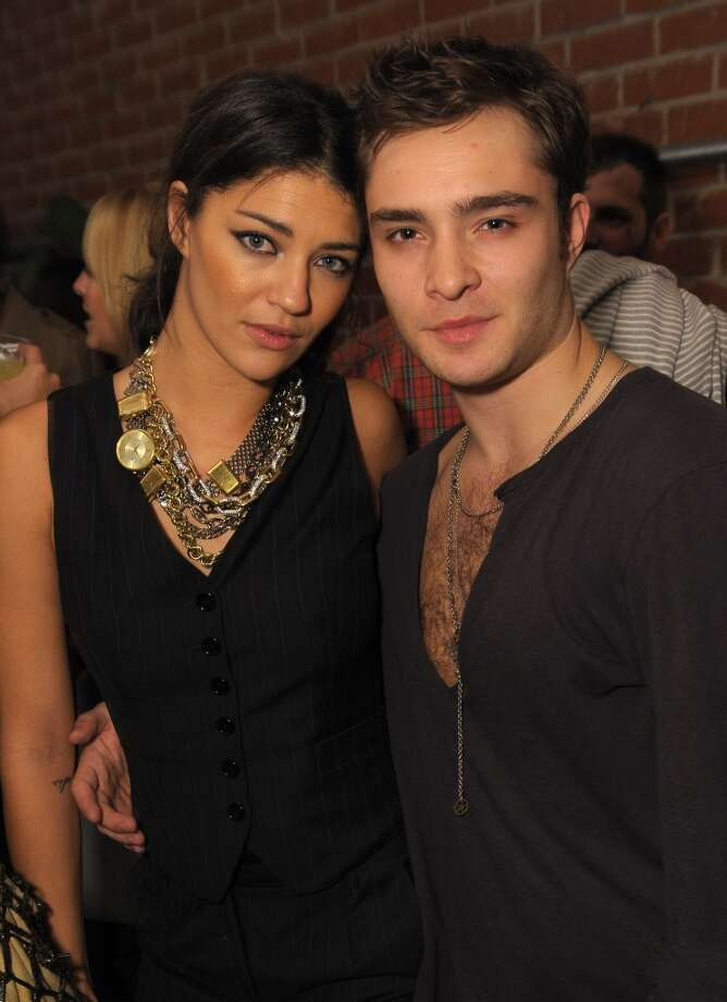 "Something was definitely in the ""Gossip Girl"" water. Co-stars Jessica Szohr and Ed Westwick dated for awhile. Photo: Jordan Strauss, WireImage"