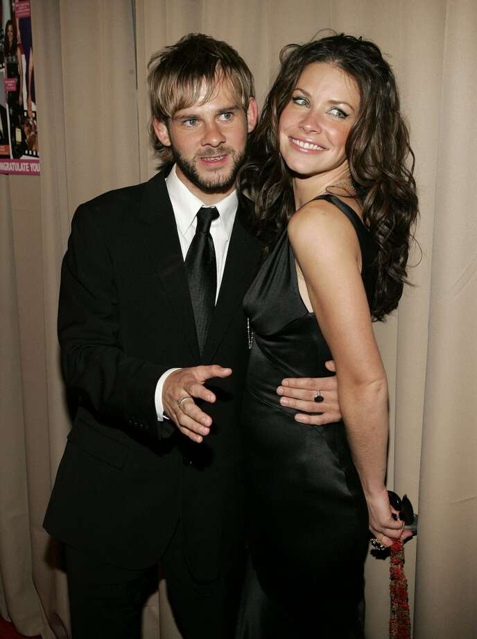 """Lost"" co-stars Dominic Monaghan and Evangeline Lilly dated during part of the show's run, from 2004-2009. Photo: Jason Merritt, FilmMagic"