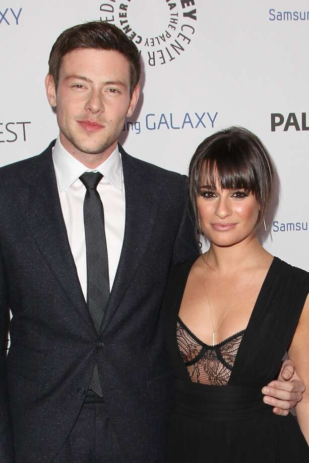 "Cory Monteith and Lea Michele began dating on the set of Fox's ""Glee."" Monteith passed away in 2013. Photo: Jonathan Leibson, WireImage"