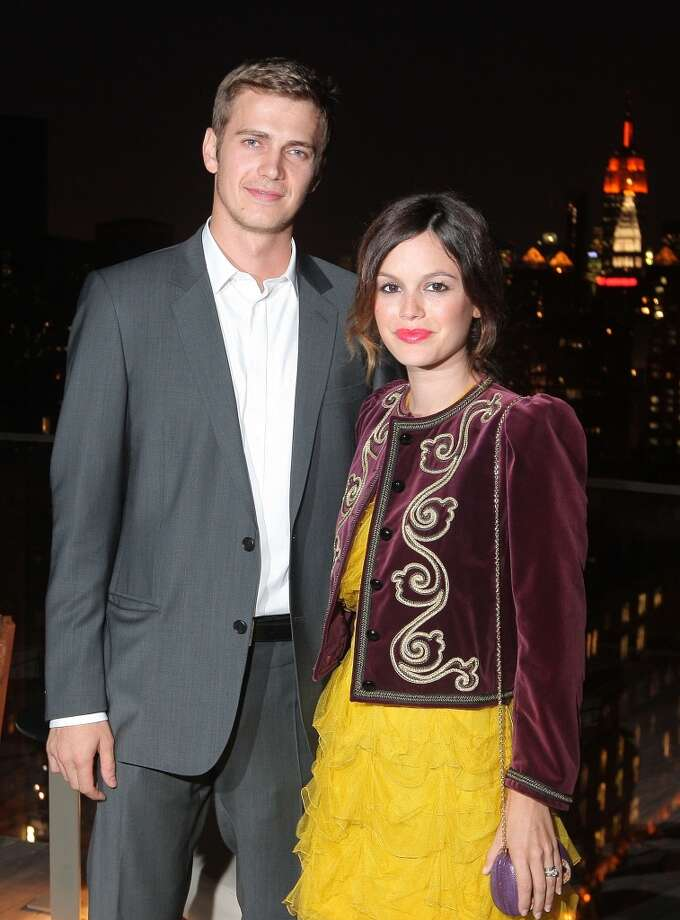"And not long after that, Hayden Christensen and Rachel Bilson began dating on the set of the 2007 film ""Jumper."" They were engaged in 2008, split in 2010, reconciled shortly after and welcomed a daughter in 2014. Photo: Michael Loccisano, Getty Images For GQ"