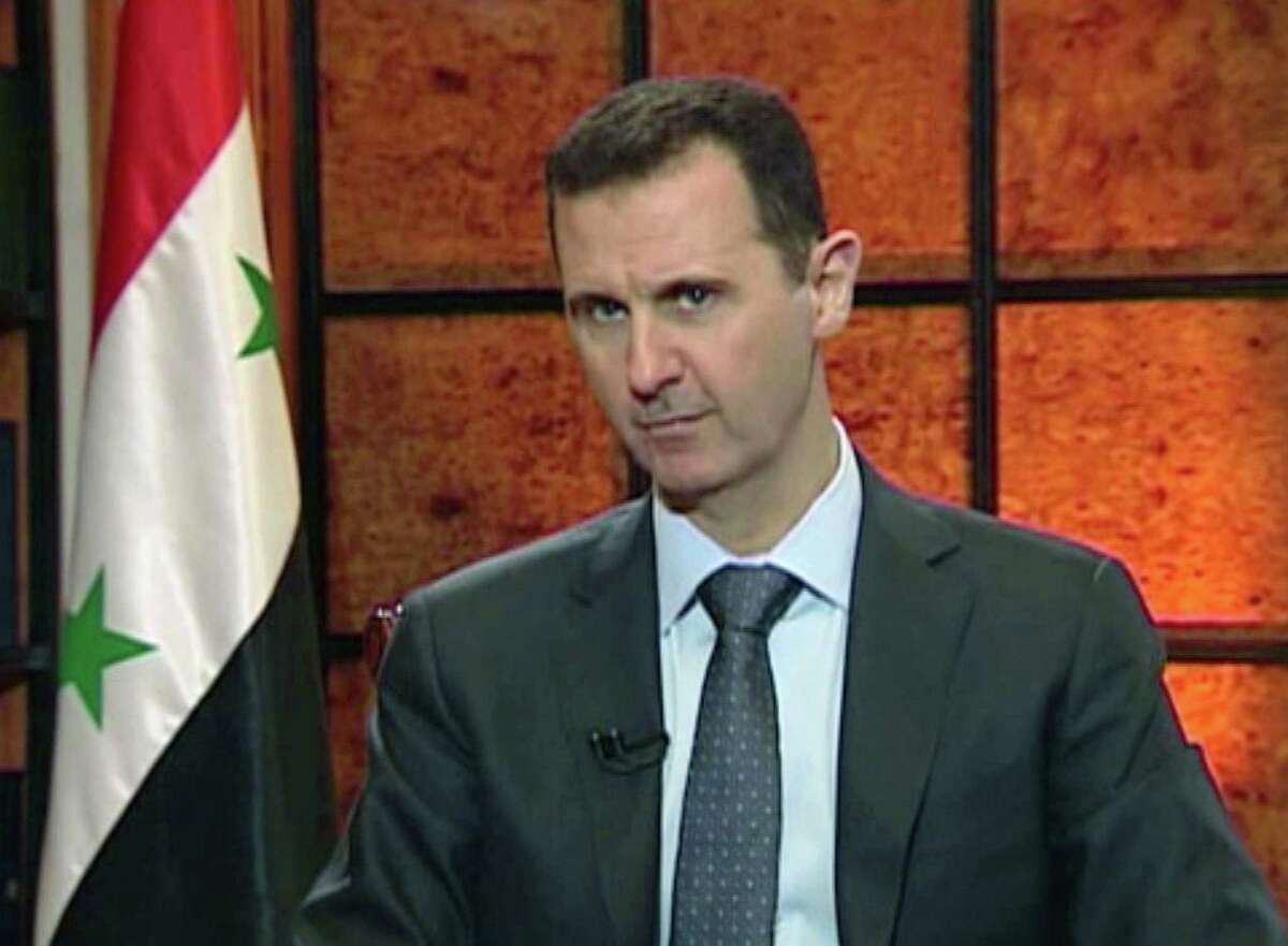 Syria's Bashar Assad has been warned by Israel of the consequences if he were to retaliate.