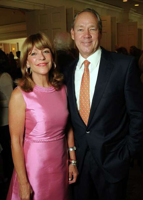 Honorees Franci and Jim Crane at the Houston Center for Contemporary Craft's luncheon at the River Oaks Country Club Tuesday May 07, 2013.(Dave Rossman photo) Photo: Dave Rossman, Freelance / © 2013 Dave Rossman