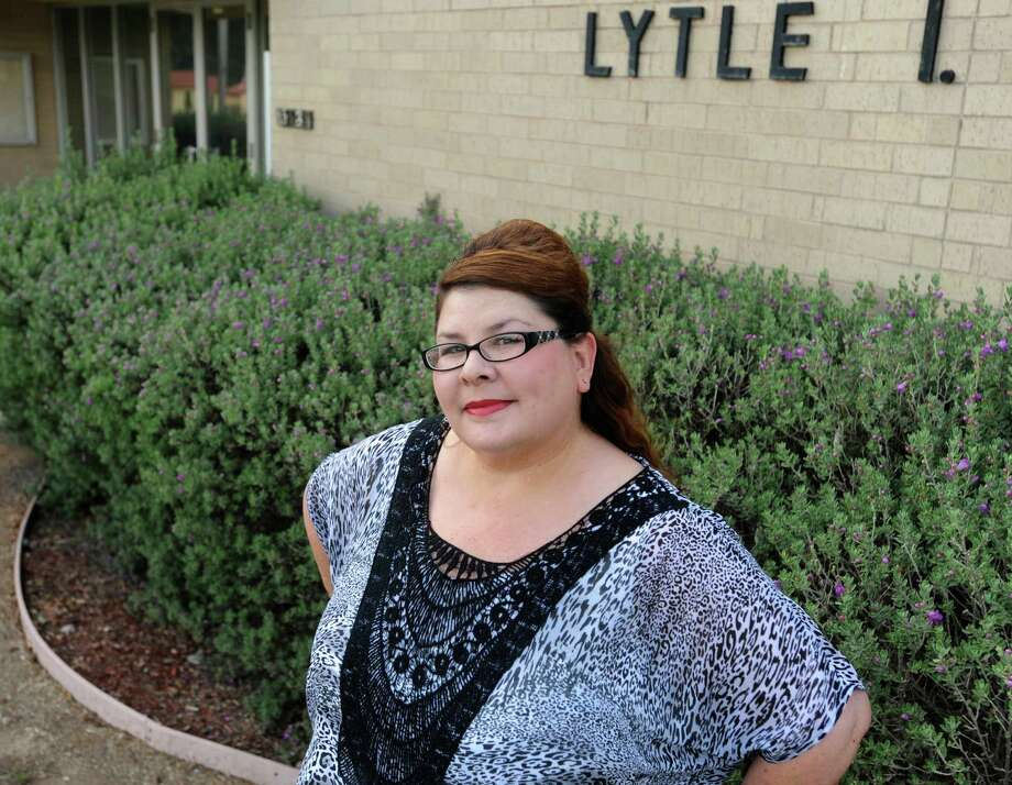 Christina Mercado won a seat on the Lytle Independent School District board by winning Saturday's election and receiving the lone legitimate vote cast. Photo: Billy Calzada, Staff / San Antonio Express-News