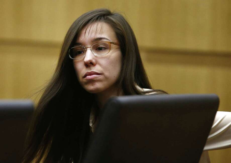 """Jodi Arias, found guilty of first-degree murder in Travis Alexander's slaying, told a TV station, """"I believe death is the ultimate freedom, and I'd rather have my freedom as soon as I can get it."""" Photo: Rob Schumacher / Arizona Republic"""