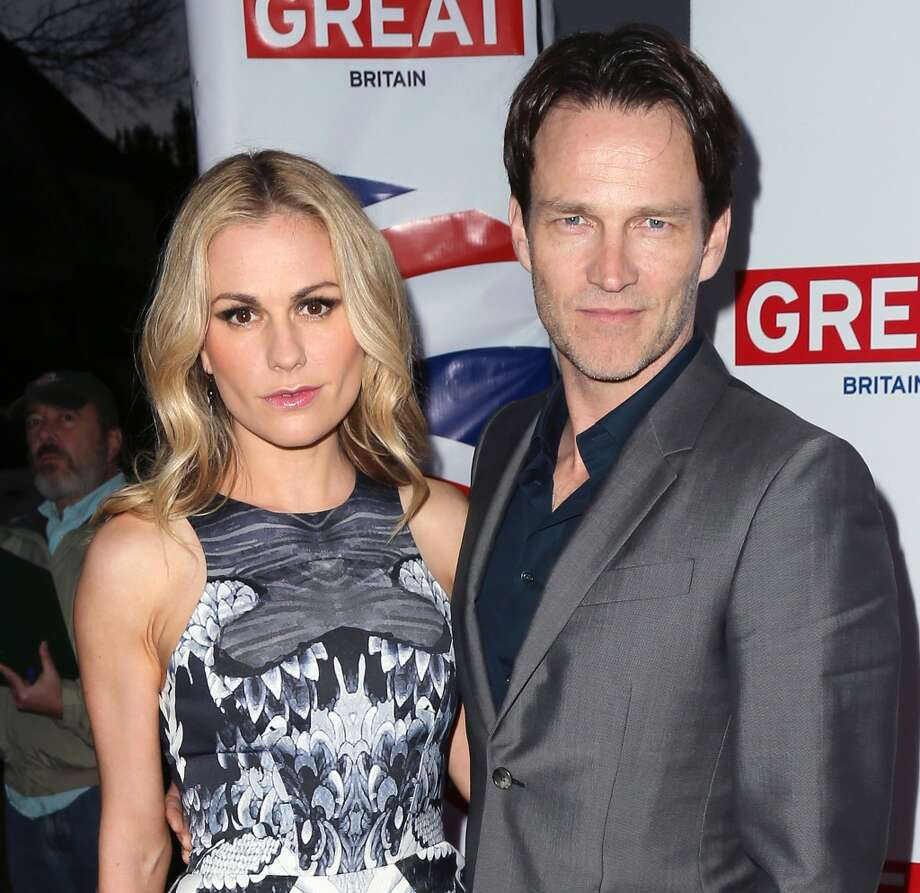 """True Blood"" co-stars Anna Paquin and Stephen Moyer married in 2010 after meeting on the set of the HBO series. Photo: David Livingston, Getty Images"