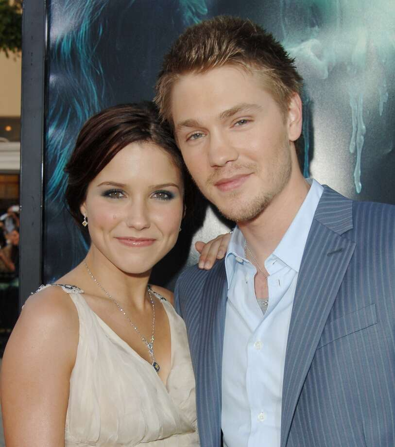 """""""One Tree Hill"""" costars Sophia Bush and  Chad Michael Murray were married in 2005. They separated five months later with Bush citing """"fraud."""" The show continued on until 2012. That must have been fun. Photo: Jon Kopaloff, FilmMagic"""