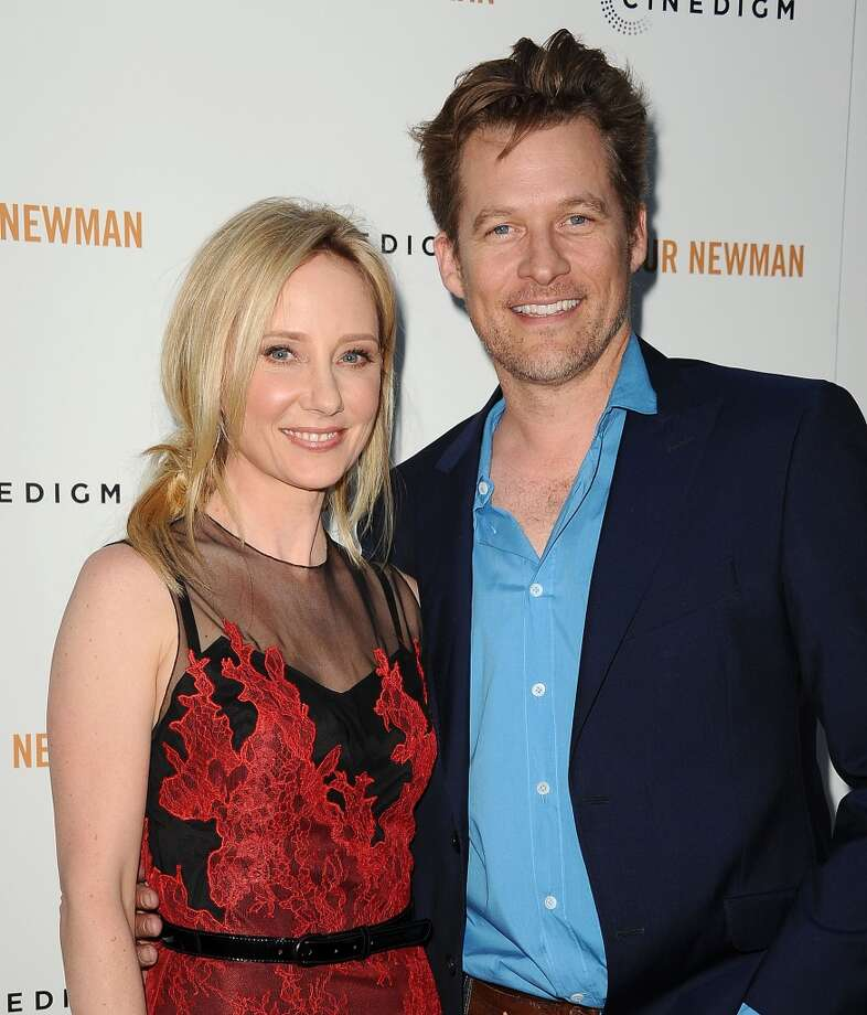 """Anne Heche and James Tupper were both married when they met on the set of ABC's  """"Men in Trees."""" The show lasted two seasons; Heche and Tupper are still married. Photo: Jason LaVeris, FilmMagic"""