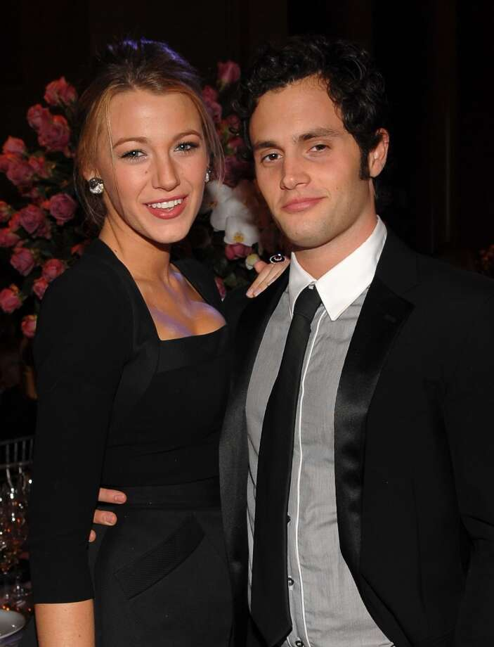 'Gossip Girl''s Serena and Dan were also a couple off-set. Blake Lively and Penn Badgley dated from 2007-2010. The show ended last year, and she's now married to Ryan Reynolds. Photo: Jamie McCarthy, WireImage For Gabrielle's Angel Foundation
