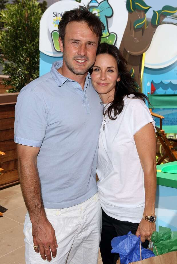 "David Arquette and Courteney Cox met while filming ""Scream."" They married in 1999 but divorced in 2012. Photo: Jason Merritt, Getty Images"