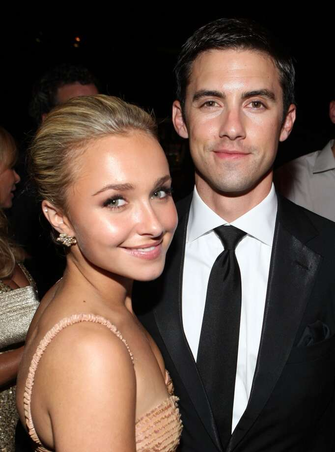 """Heroes"" co-stars Hayden Panettiere and Milo Ventimiglia  dated from 2007-2009. Photo: John Shearer, WireImage"