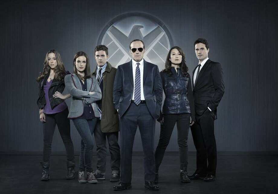 "MARVEL'S AGENTS OF S.H.I.E.L.D. - ""Marvel's Agents of S.H.I.E.L.D.,"" Marvel's first television series, is from executive producers Joss Whedon (""Marvel's The Avengers,"" ""Buffy the Vampire Slayer""), Jed Whedon & Maurissa Tancharoen, who co-wrote the pilot (""Dollhouse,"" ""Dr.Horrible's Sing-Along Blog""). Jeffrey Bell (""Angel,"" ""Alias"") and Jeph Loeb (""Smallville,"" ""Lost,"" ""Heroes"") also serve as executive producers. ""Marvel's Agents of S.H.I.E.L.D."" is produced by ABC Studios and Marvel Television. (ABC/Bob D'Amico) CHLOE BENNET, ELIZABETH HENSTRIDGE, IAIN DE CAESTECKER, CLARK GREGG, MING-NA WEN, BRETT DALTON Photo: Bob D'Amico, ABC / © 2013 American Broadcasting Companies, Inc. All rights reserved."