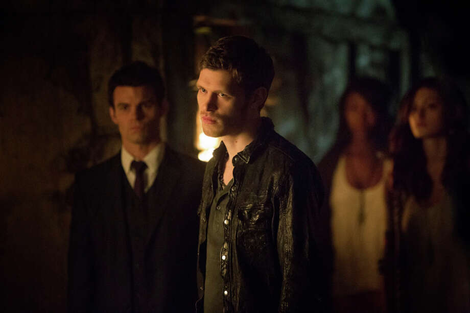 The Originals  -- Pictured (L-R): Daniel Gillies as Elijah, Joseph Morgan as Klaus, and Phoebe Tonkin as Hayley -- Image Number: OR420a_0059r.jpg -- Photo: Skip Bolen/The CW -- ©2013 The CW Network, LLC. All rights reserved. Photo: Bob Mahoney, Bob Mahoney/The CW / ©2013 The CW Network.  All Rights Reserved.