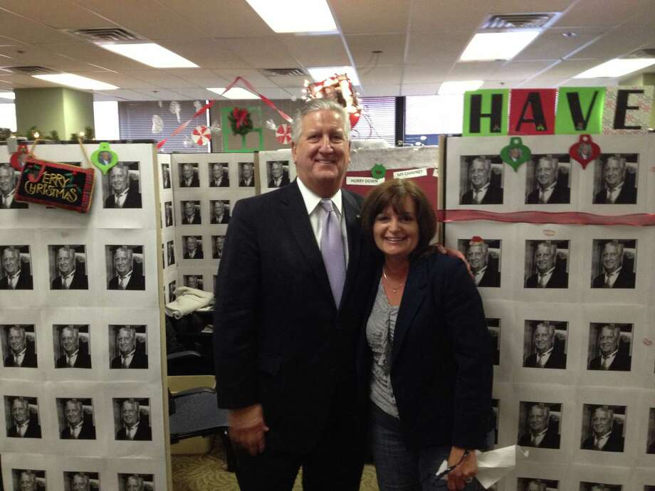 Were you Seen posing with Albany Mayor Jerry Jennings?   Nancy and Jerry.  Submitted by: Kathy Roff. Photo: Reader-submitted