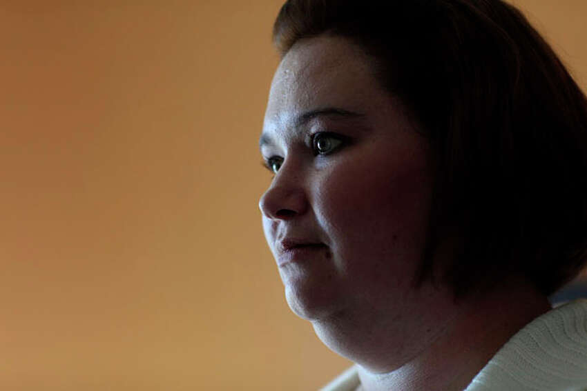 Kelly Smith at the hotel where she was living at the time in Abilene on Thursday, Nov. 1, 2012.
