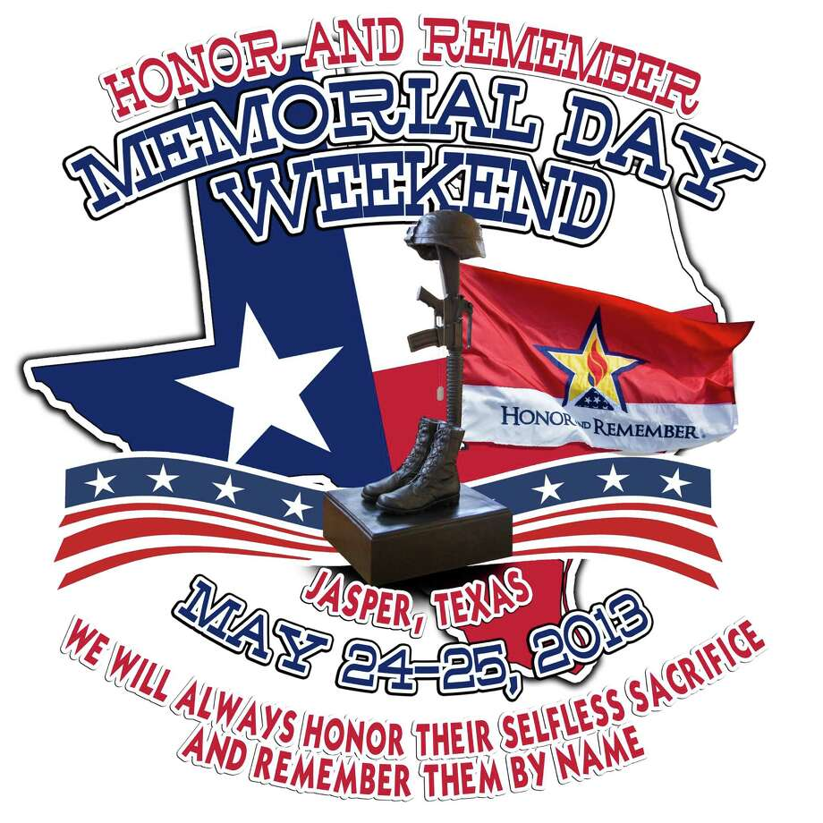Honor and Remember Memorial Weekend May 24 and 25th