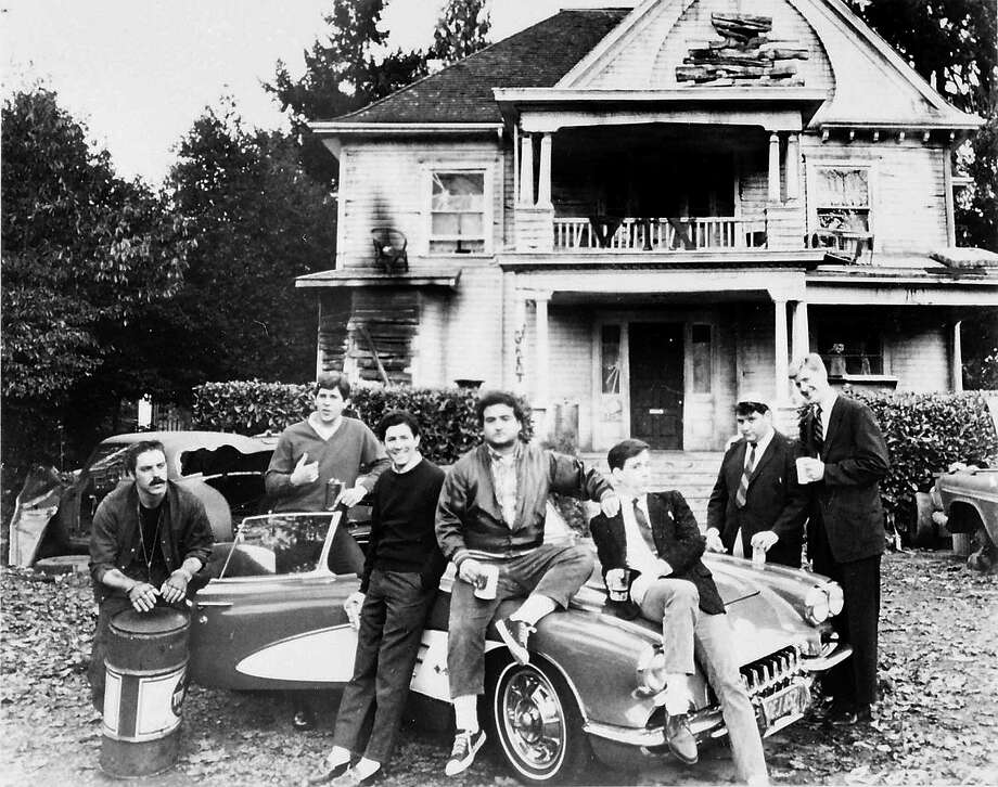 "Fraternity or sorority home: ""Old School"" or ""Animal House"" can give you a glimpse into living next door to a fraternity or sorority house. It is usually an unpleasant experience.Source: Estately Photo: File / UNIVERSAL PICTURES"