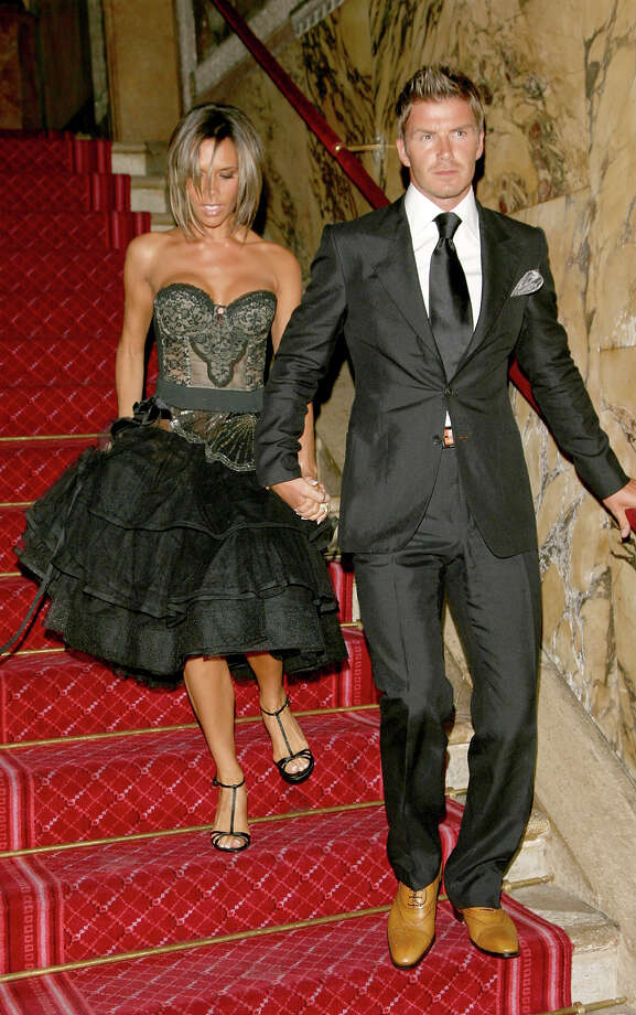 Victoria Beckham and David Beckham in 2006. Photo: Venturelli, WireImage / WireImage
