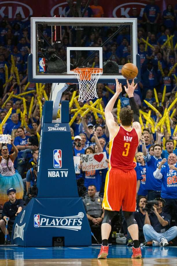Free throws  Asik: 168 in 288 attempts (56.2 percent) Howard: 355 in 721 attempts (49.2 percent)  The cost: Asik: $29,761 per made free throw Howard: $54,256 per made free throw