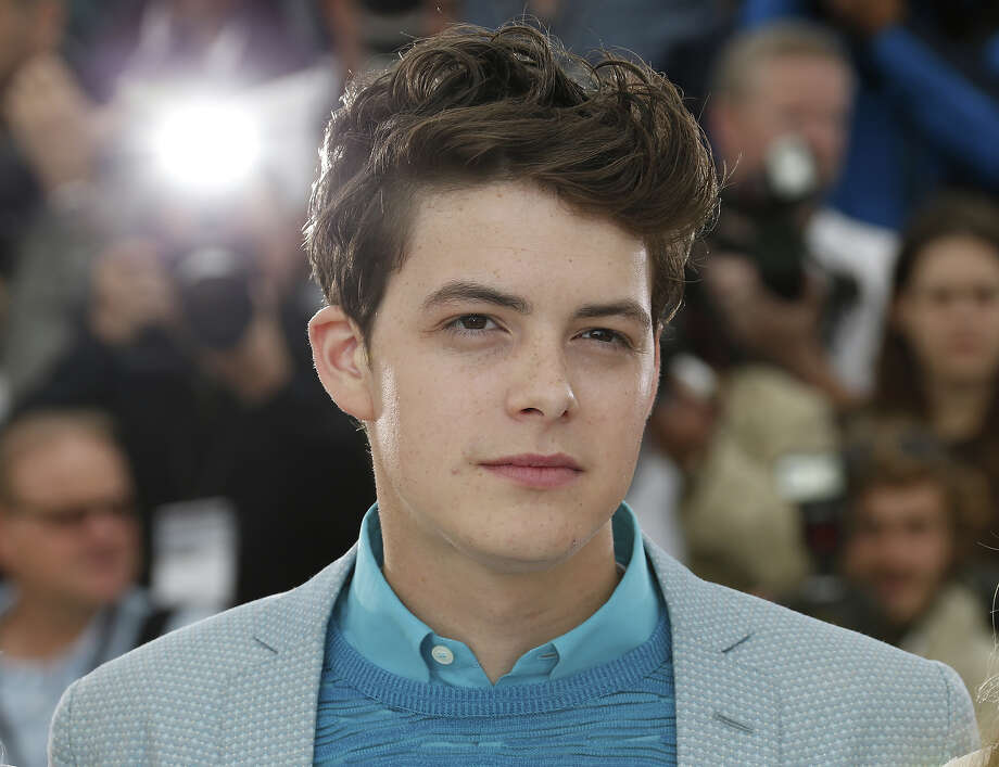 "US actor Israel Broussard poses on May 16, 2013 during a photocall for the film ""The Bling Ring"" at the 66th edition of the Cannes Film Festival in Cannes. Cannes, one of the world's top film festivals, opened on May 15 and will climax on May 26 with awards selected by a jury headed this year by Hollywood legend Steven Spielberg. Photo: VALERY HACHE, AFP/Getty Images / 2013 AFP"