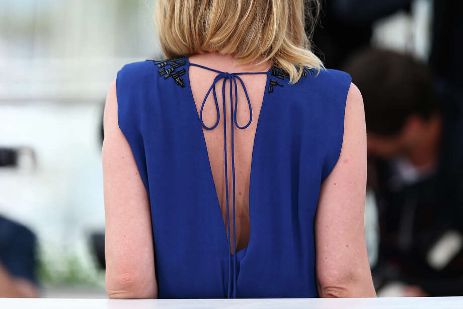 Jury member actress Ludivine Sagnier (back detail) attends the Jury 'Un Certain Regard' Photocall during the 66th Annual Cannes Film Festival at the Palais des Festivals on May 16, 2013 in Cannes, France. Photo: Andreas Rentz, Getty Images / 2013 Getty Images