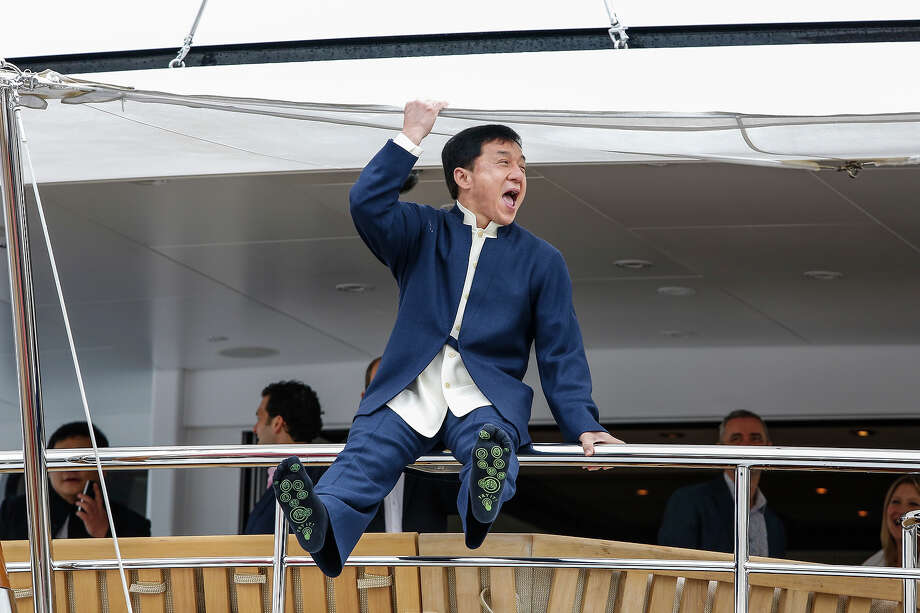 Jackie Chan at the 66th Cannes Film Festival on May 16, 2013. Photo: Jeffrey Bright, FilmMagic / 2013 Jeffrey Bright