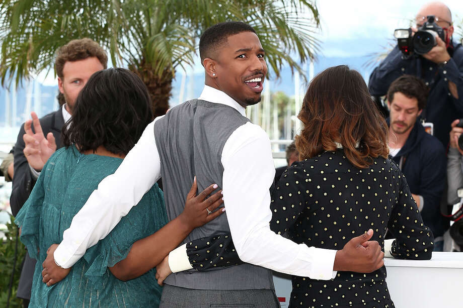 (L-R) Actress Octavia Spencer, actor Michael B. Jordan, Director Ryan Coogler and actress Melonie Diaz attend the 'Fruitvale Station' Photocall during the 66th Annual Cannes Film Festival at the Palais des Festivals on May 16, 2013 in Cannes, France. Photo: Andreas Rentz, Getty Images / 2013 Getty Images