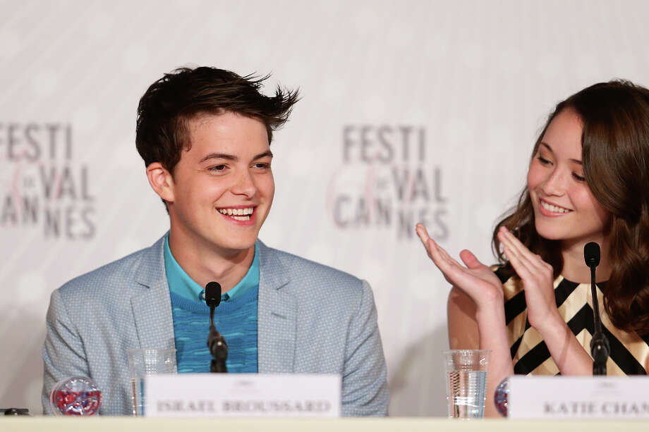 Actor Israel Broussard and actress Katie Chang attend 'The Bling Ring' press conference during the 66th Annual Cannes Film Festival at Palais des Festival on May 16, 2013 in Cannes, France. Photo: Vittorio Zunino Celotto, Getty Images / 2013 Getty Images