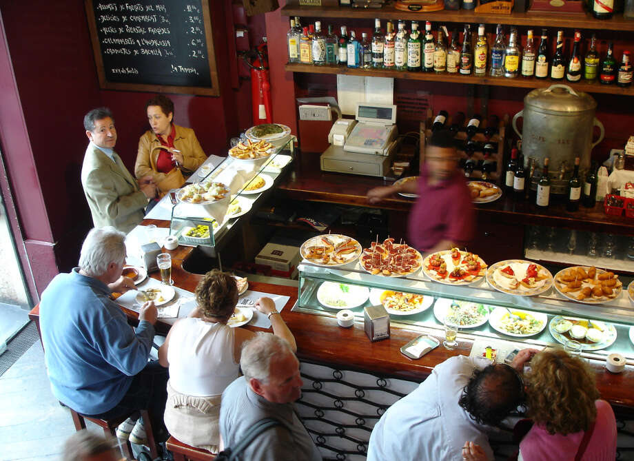 Tempting plates in Spain's tapas bars make it easy to sample new foods. Photo: Rick Steves, Ricksteves.com