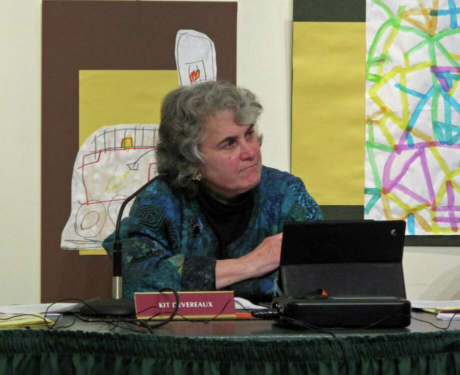 Town Council Secretary Kit Devereauz (D) announced at the May 15 meeting that she would not run for reelection this fall, citing a changing atmosphere on the Town Council. Photo: Tyler Woods