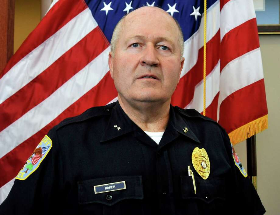 Danbury Police Chief Alan Baker Photo: Michael Duffy
