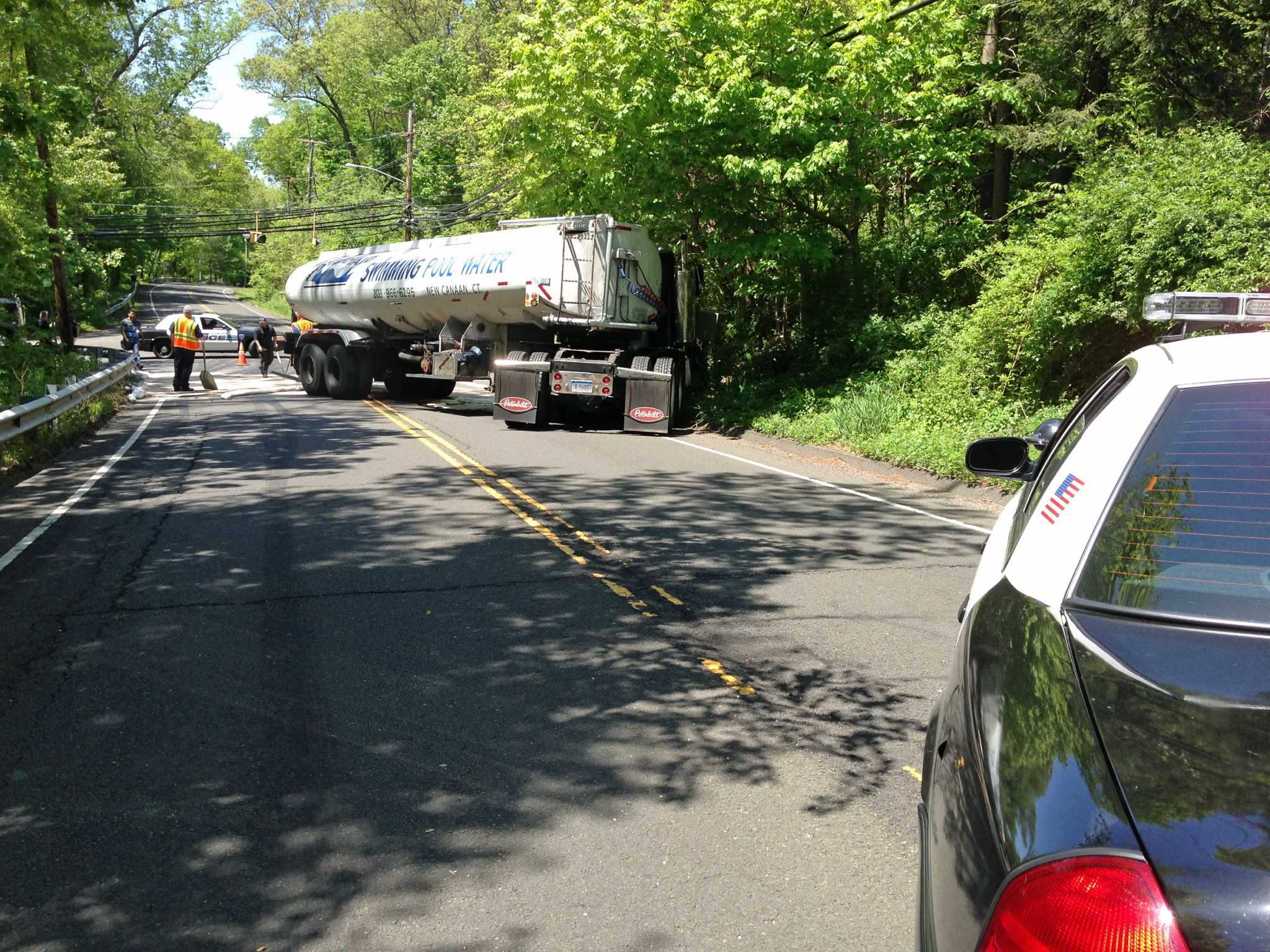 Accidents close upper long ridge road stamfordadvocate for Westhill swimming pool phone number