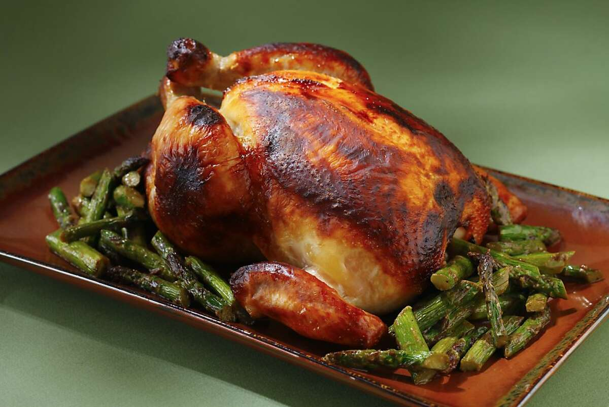 Now take a look at photos of other recipes that ran in the Chronicle on Sunday. Koji Roast Chicken from Bar Tartine.