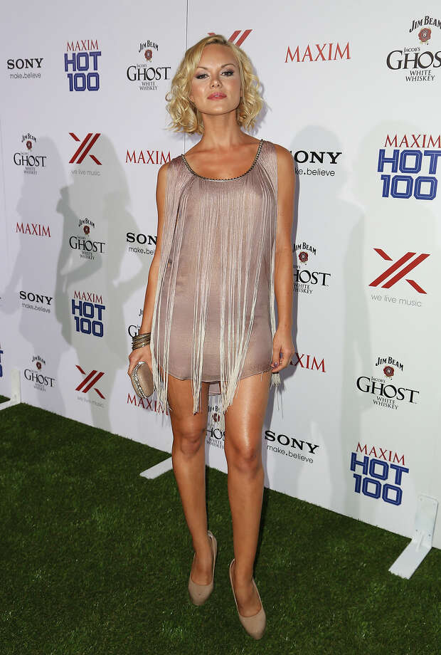 Model Anya Monzikova arrives for Maxim's Hot 100 Celebration at Create Nightclub on May 15, 2013 in Hollywood, California. Photo: Chelsea Lauren, WireImage / 2013 WireImage