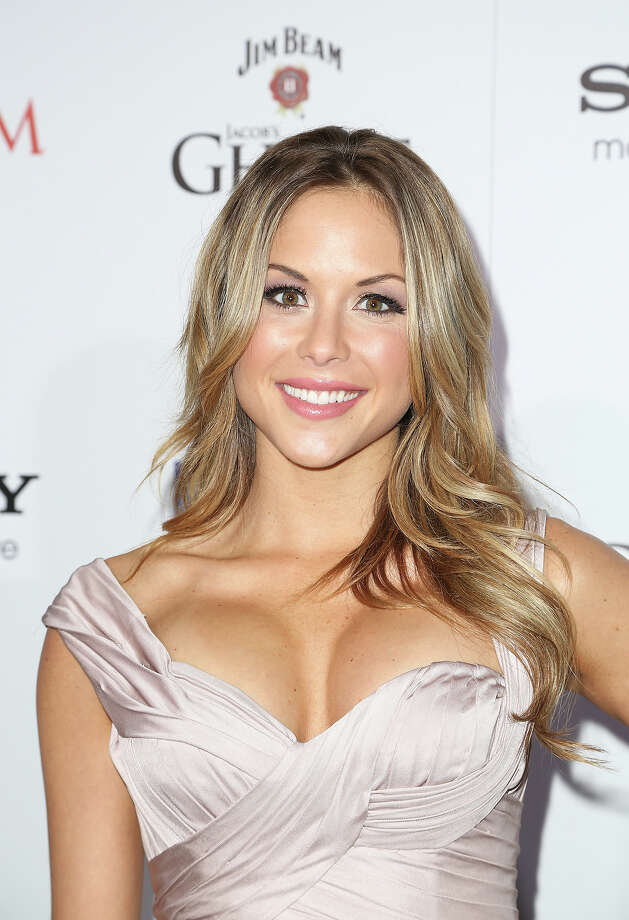 Brittney Palmer arrives for Maxim's Hot 100 Celebration at Create Nightclub on May 15, 2013 in Hollywood, California. Photo: Chelsea Lauren, WireImage / 2013 WireImage