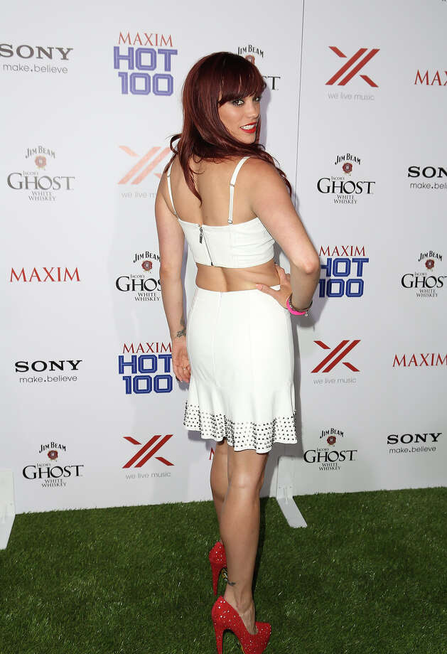 Singer Jessica Sutta arrives for Maxim's Hot 100 Celebration at Create Nightclub on May 15, 2013 in Hollywood, California. Photo: Chelsea Lauren, WireImage / 2013 WireImage